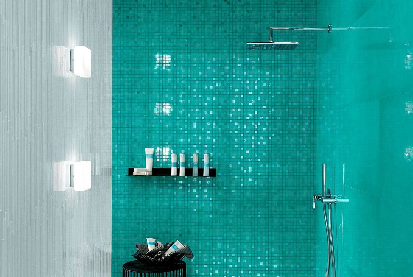 ATLAS CONCORDE | DWELL Turquoise, Mosaico Ice L & Turquoise