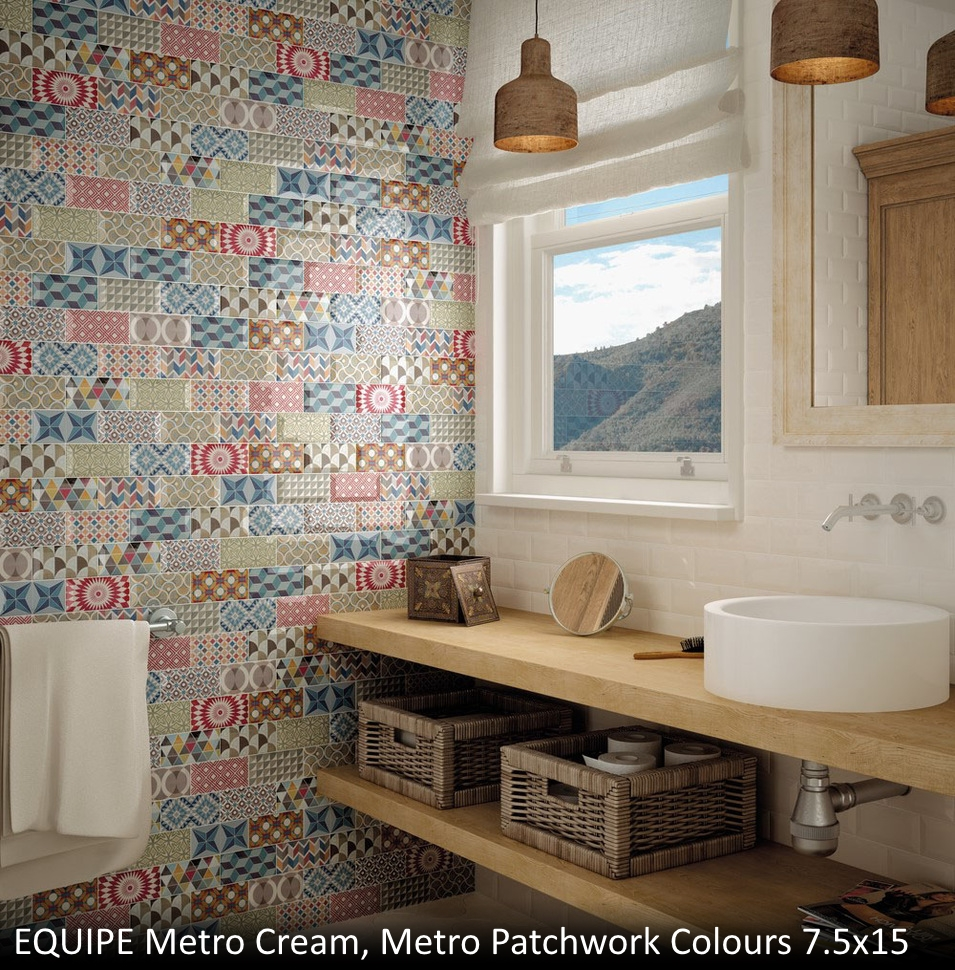 Metro Cream, Metro Patchwork Colours