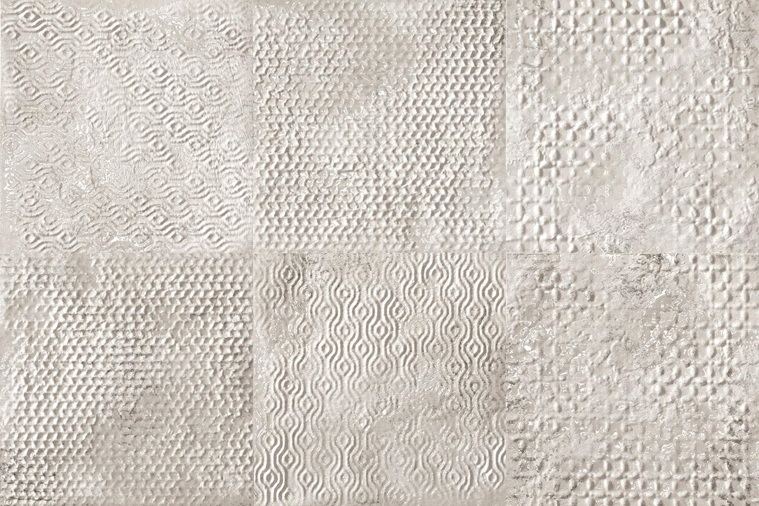 FAP Maku Grid White Inserto Mix 6 40x60